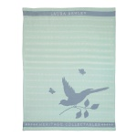180800 Theedoek Mint Bird 50x70 cm - Laura Ashley Heritage servies