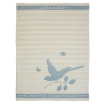 180801 Theedoek Cobblestone Bird 50x70 cm - Laura Ashley Heritage servies