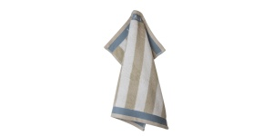 180810-hanging Keukendoek Cobblestone Stripe 50x50 cm - Laura Ashley Heritage servies